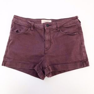 pacsun | super stretch shortie jean shorts sz 29